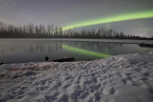 5-Aurora Borealis or Northern Lights taken in Knik River valley Anchorage - Aurora - Graham Reichardt Photography