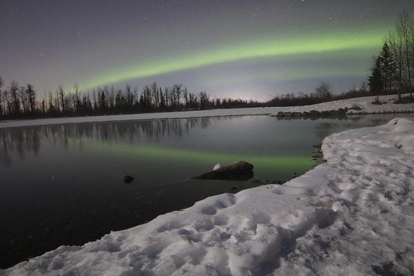 2-Aurora Borealis or Northern Lights taken in Knik River valley Anchorage - Aurora - Graham Reichardt Photography