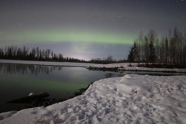 3-Aurora Borealis or Northern Lights taken in Knik River valley Anchorage - Aurora - Graham Reichardt Photography
