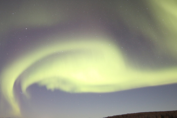 2- Aurora Borealis or Northern Lights taken at Chandlers farm, out from Fairbanks - Aurora - Graham Reichardt Photography