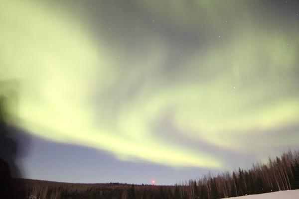 5-Aurora Borealis or Northern Lights taken at Chandlers farm, out from Fairbanks - Aurora - Graham Reichardt Photography