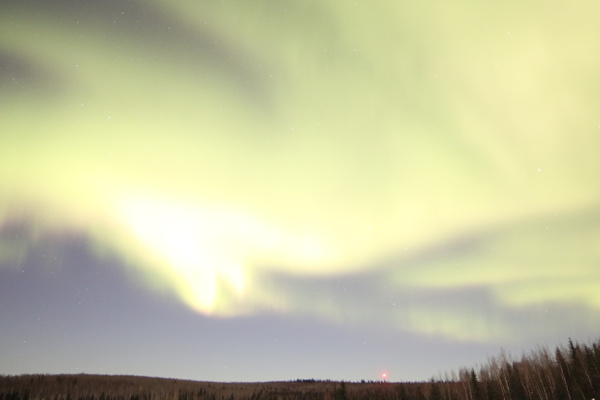 4-Aurora Borealis or Northern Lights taken at Chandlers farm, out from Fairbanks - Aurora - Graham Reichardt Photography