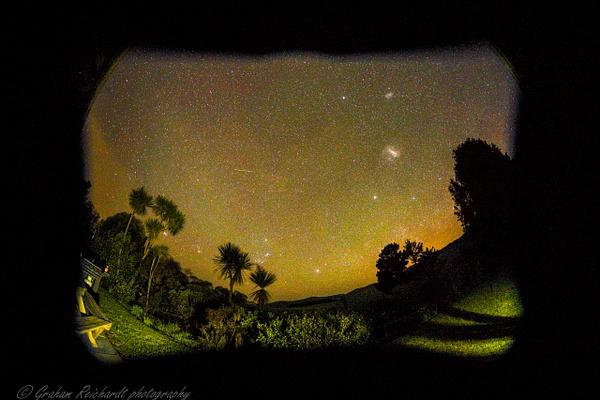 night at Rangatikei - Night Sky - Graham Reichardt Photography