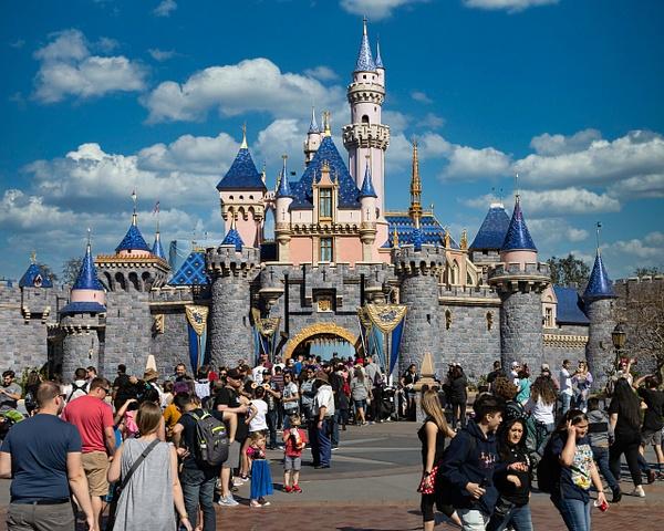 Disney Castle by Bill Hunter