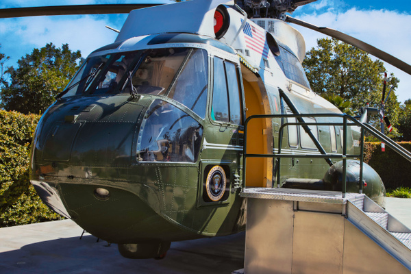 Marine One Helicopter by Bill Hunter