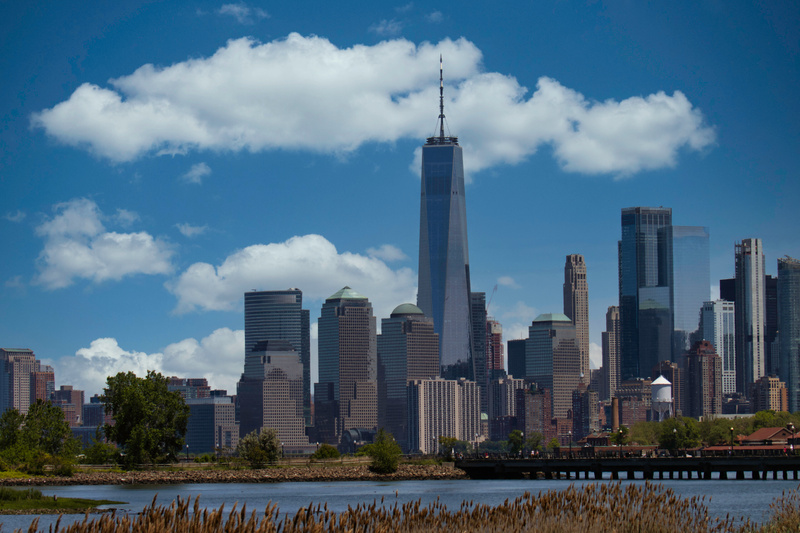 Freedom Tower and NYC Skyline