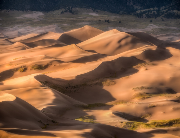 Sunset at the Dunes by Korey Shumway