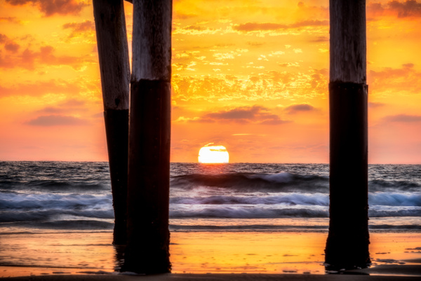 Golden Pier by Korey Shumway