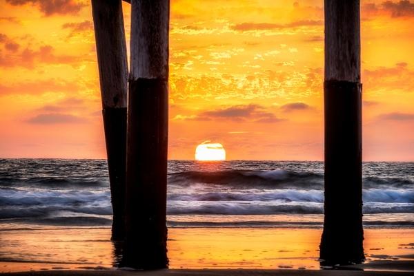 Golden Pier by KoreyShumway