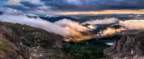 Above the Clouds - Colorado - Korey Shumway Photography