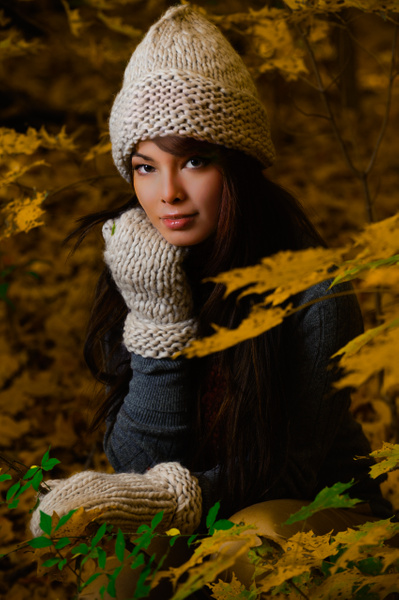 Laurence in Fall - Commercial - Keith Ibsen Photography