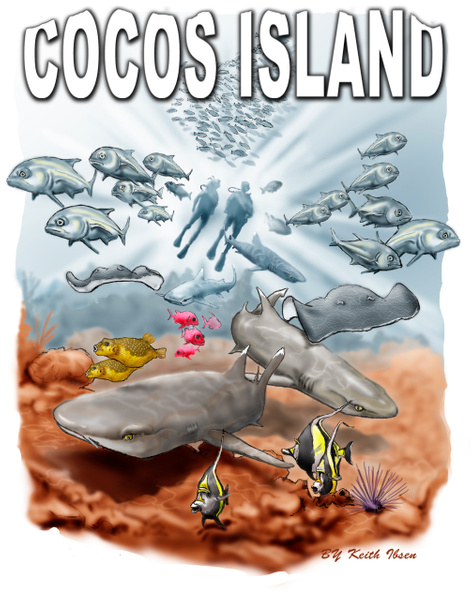 Reef CocoS1114M 0309fcolor - Illustrations - Keith Ibsen Photography