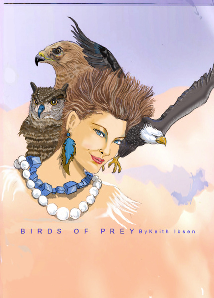Birds of pray-Recovered - Illustrations - Keith Ibsen Photography