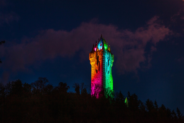 20200503-best without moon - Stirling Castle & The Wallace - Heather Morrison Photography
