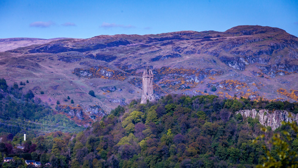 The Wallace Monument - Stirling Castle & The Wallace - Heather Morrison Photography