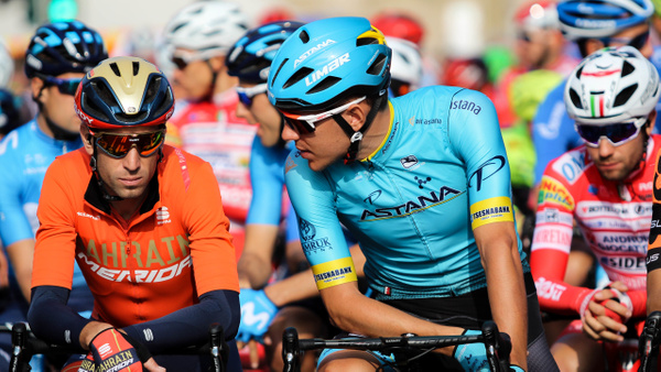 20191012-Nibali & Ballerini on line with a pensive Vendrame in the back - Home - Heather Morrison Photography