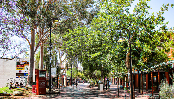 Todd Mall, Alice Springs by DavidParkerPhotography