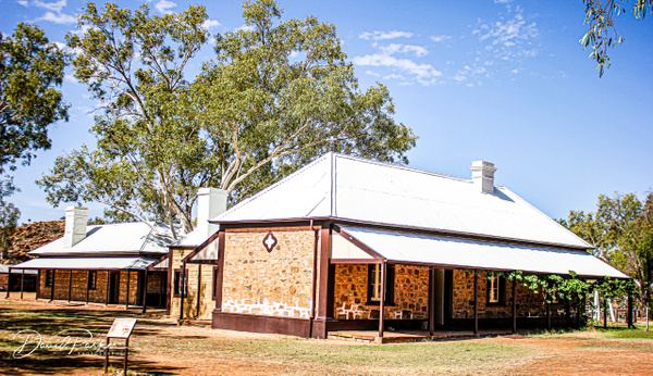 Old Telegraph Station, Alice Springs by...