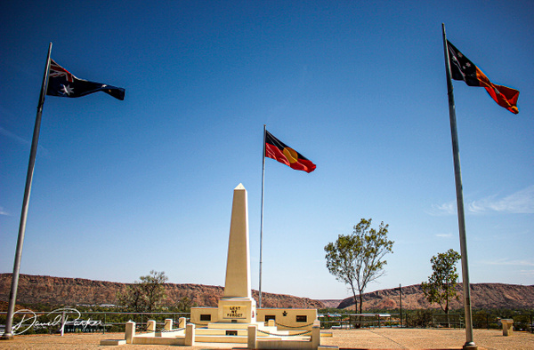 Anzac Hill, Alice Springs by DavidParkerPhotography