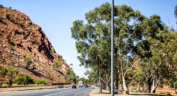 Heavitree Gap, Alice Springs by DavidParkerPhotography