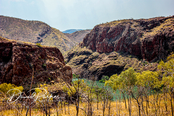 Ord River, from Lake Argyle Wall by...