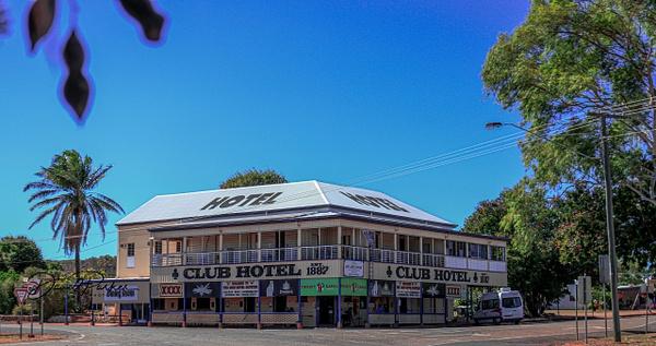 Club Hotel - Croydon, Qld by DavidParkerPhotography