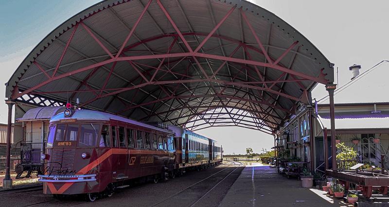The Gulflander & Normanton Railway Station