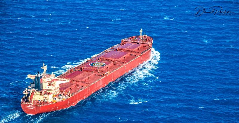 Shipping near Great Barrier Reef