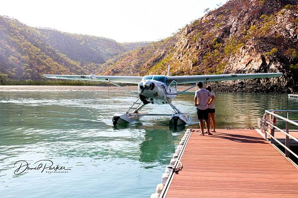 Seaplane - Horizontal Falls by DavidParkerPhotography