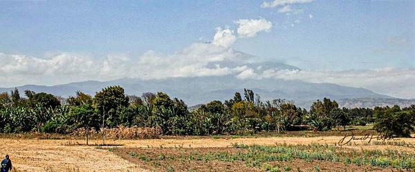 Mt Meru, Africa's second tallest mountain by...