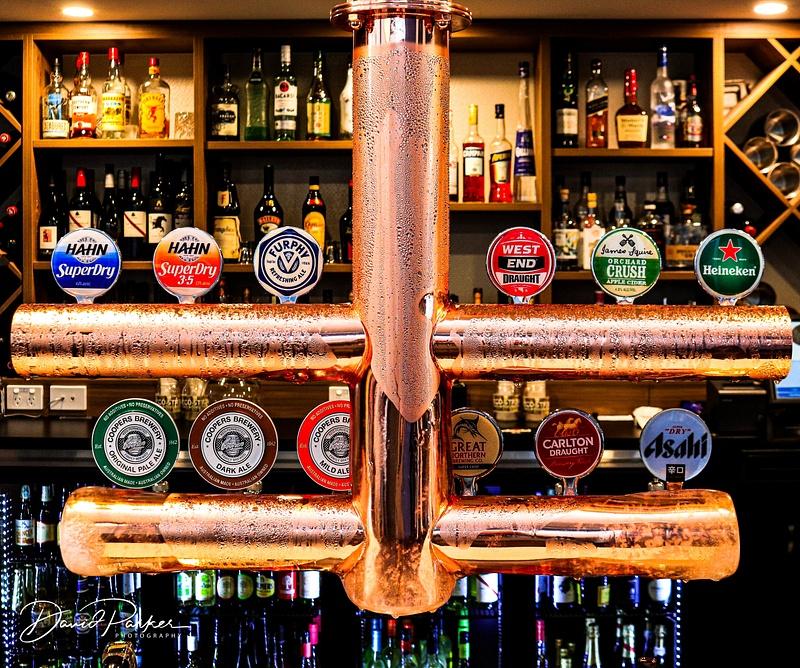 Overhead Beer Taps