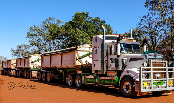 Road Train by DavidParkerPhotography