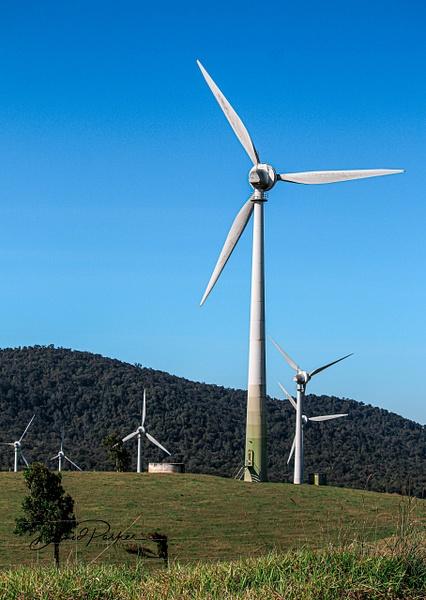 Wind Turbine, Ravenshoe Qld by DavidParkerPhotography