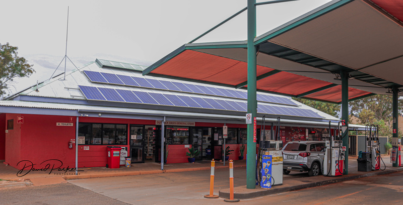 Outback Store and Service Station - Kings Canyon Resort