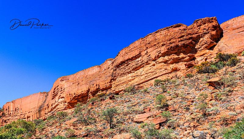 Canyon Wall, taken from Kings Creek Walk