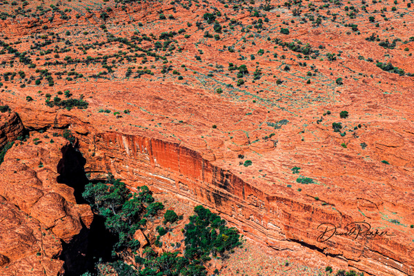 South Wall of Kings Canyon. by DavidParkerPhotography