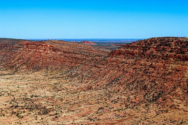 George Gills Range - Central Australia by...