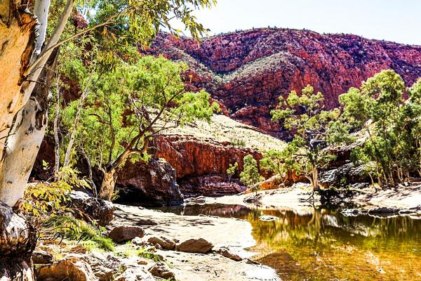 Ormiston Gorge by DavidParkerPhotography