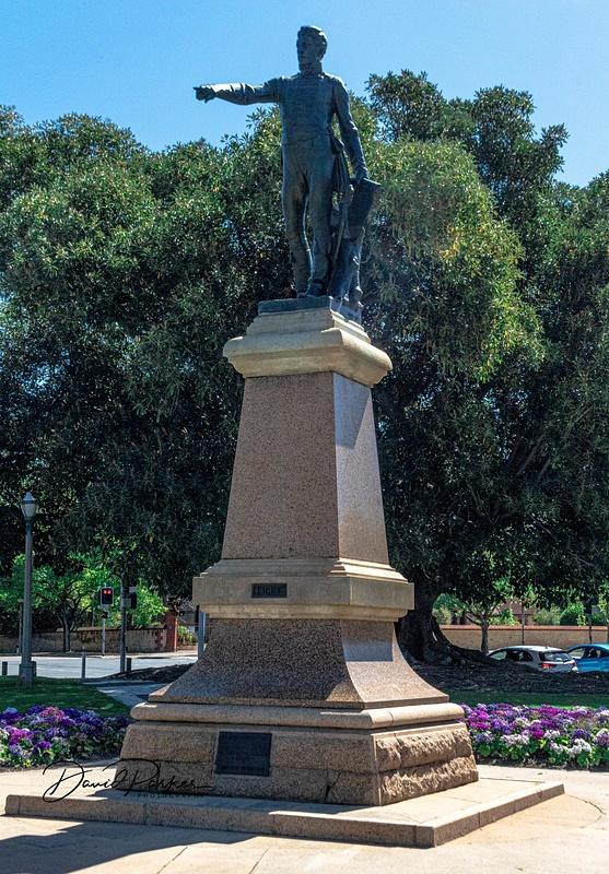 Colonel William Light, Montifore Hill