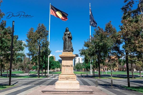 Queen Victoria's Statue, Victoria Square by...
