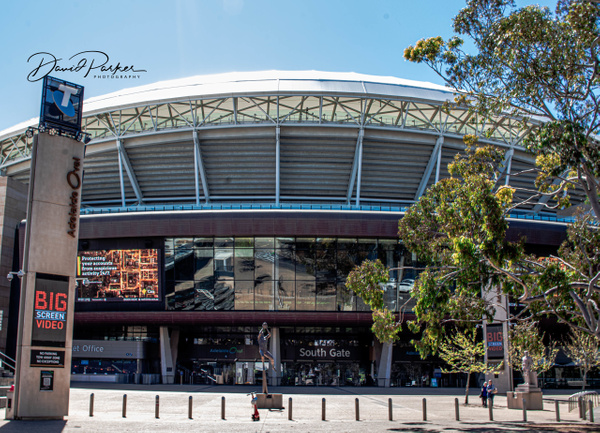South Gate, Adelaide Oval by DavidParkerPhotography