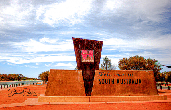 SA Border with NT by DavidParkerPhotography