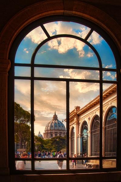 2011_0059 - Framed - Rome by ALEJANDRO DEMBO