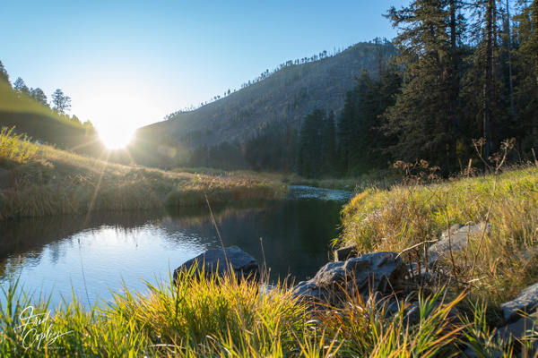 Morning in South Dakota - Nature - Fred Copley Photography
