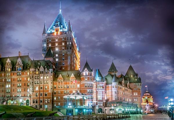 Chateau Frontenac, Québec - Travel - Alain Gagnon Photography
