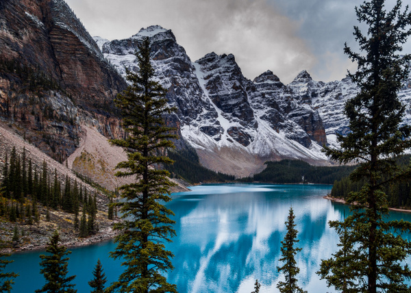 Moraine Lake Landscape by BarbaraRothPhotography