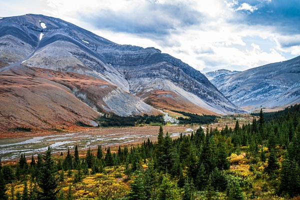 Looking Down the Valley by BarbaraRothPhotography