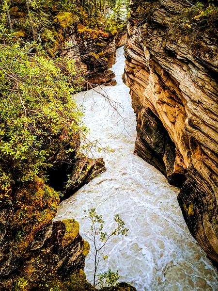Athabasca Canyon 2 by BarbaraRothPhotography