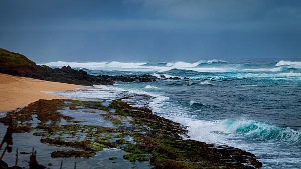 Ho'Okipa Beach by BarbaraRothPhotography