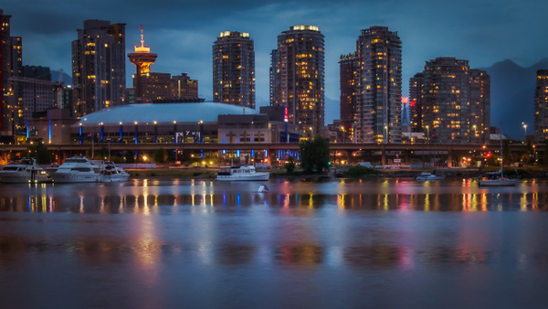 Vancouver at Night - Cityscape - McKinlay Photo